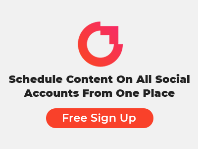 Social Media scheduler - Free Sign up